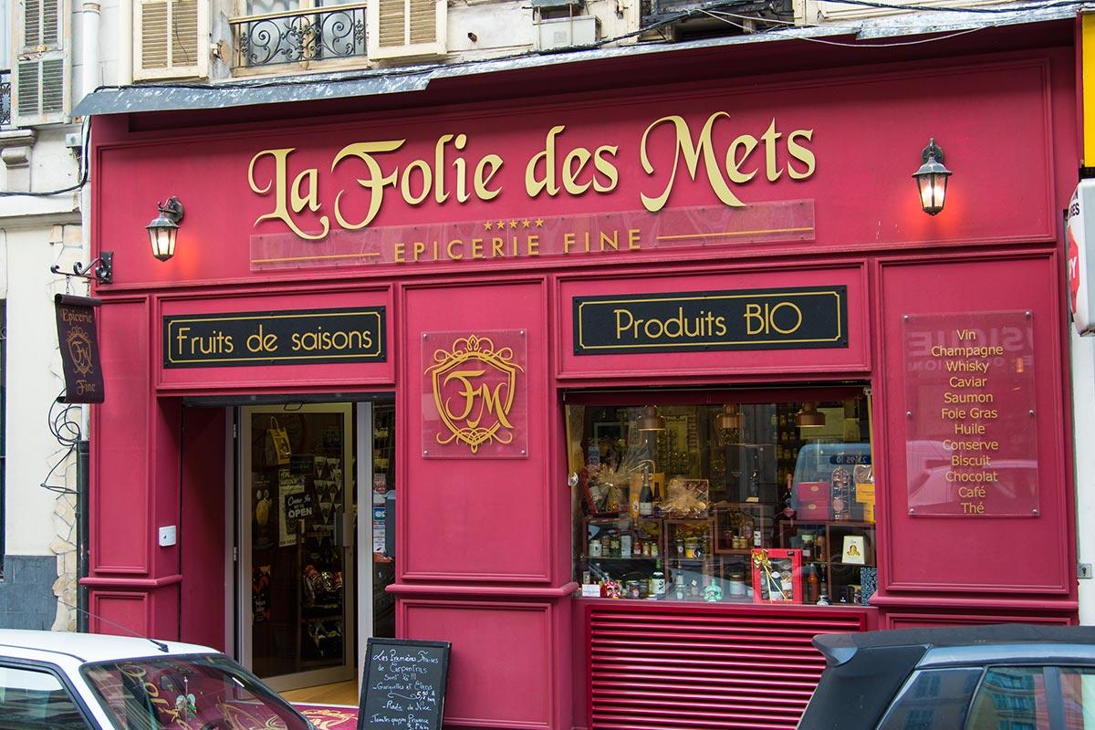 Encaissement & Gestion : Epicerie fine – La Folie des Mets | Nice (06)