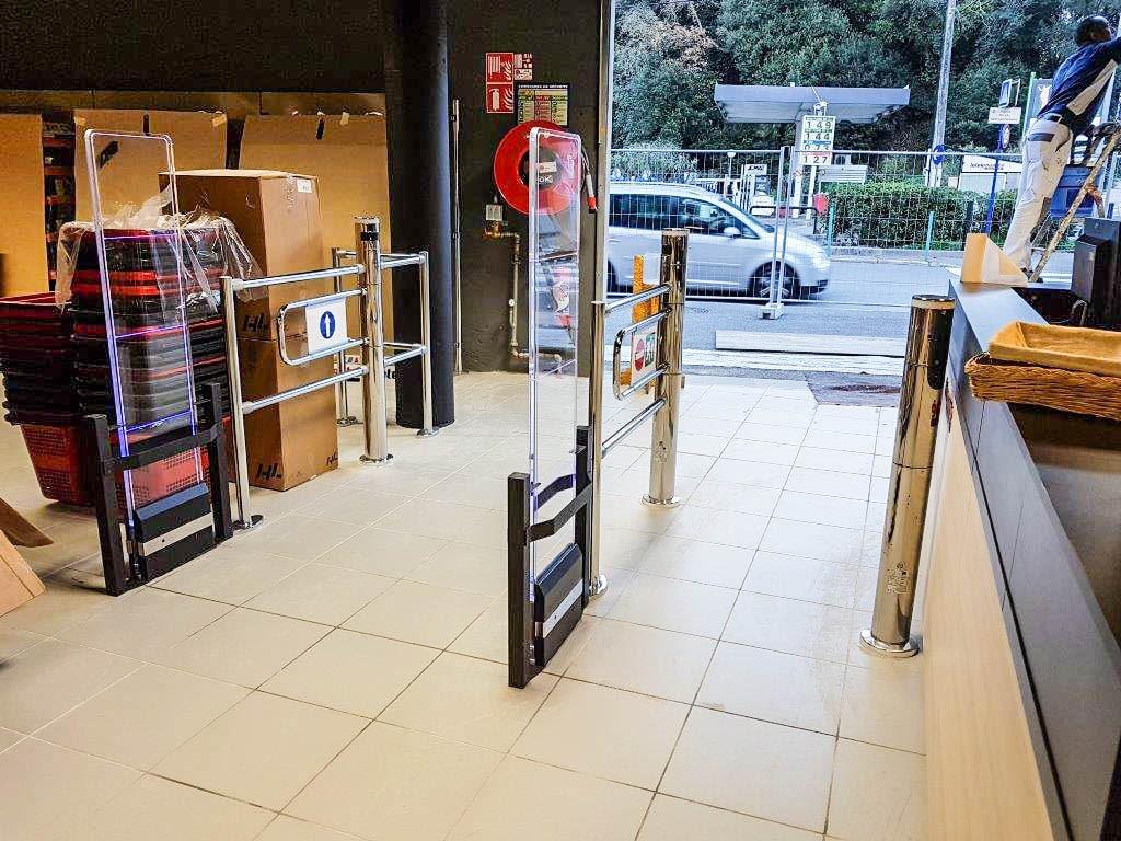 Agencement magasin | Les mousquetaires | Menton 06 | SMOB