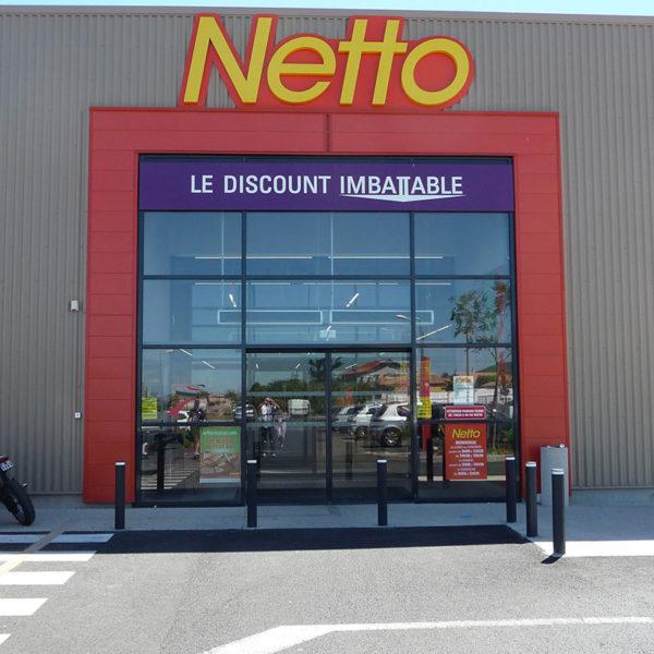 Agencement magasin | Netto | Frontignan (24) | SMOB