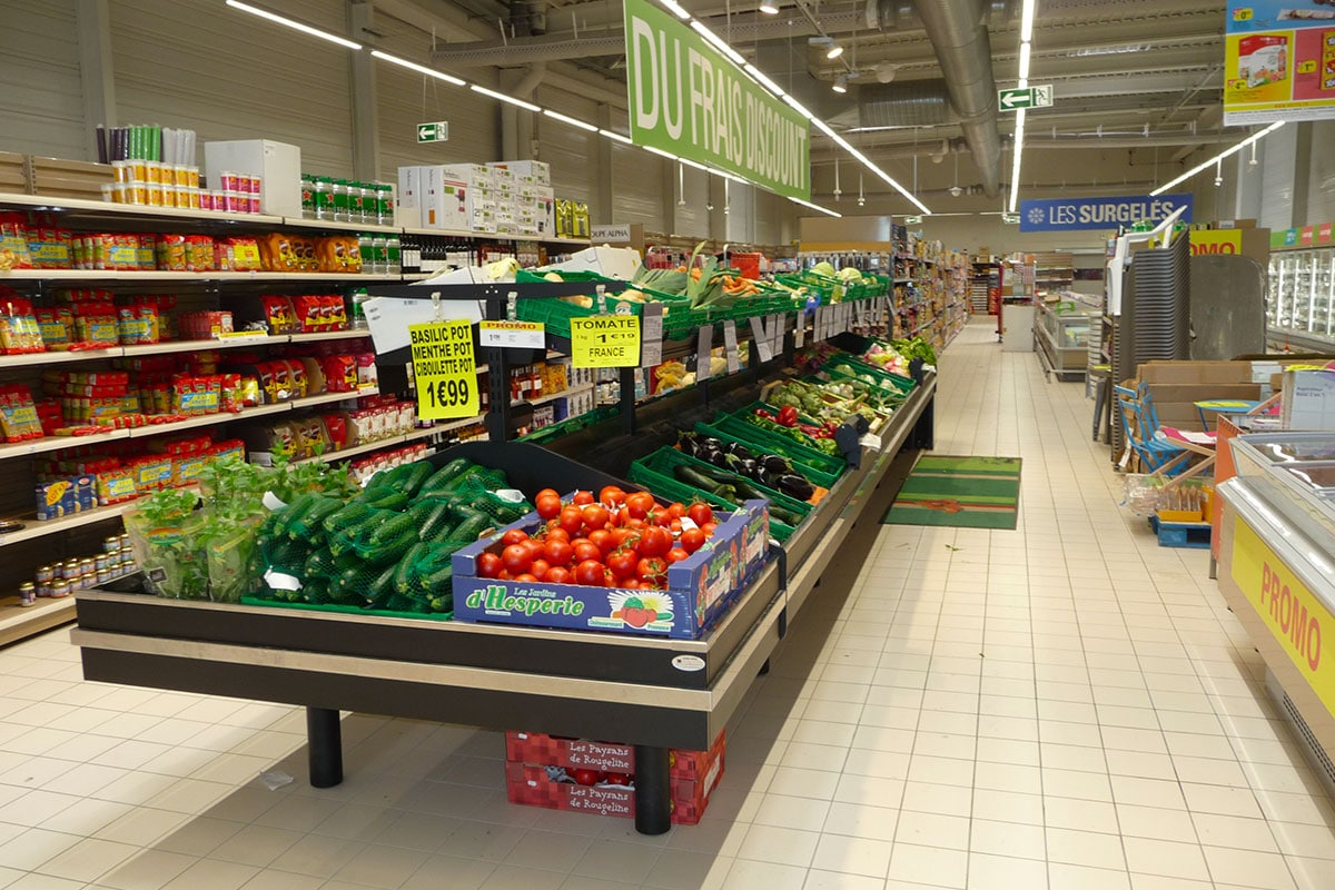 Agencement magasin | Netto | Frontignan (24) | SMOB