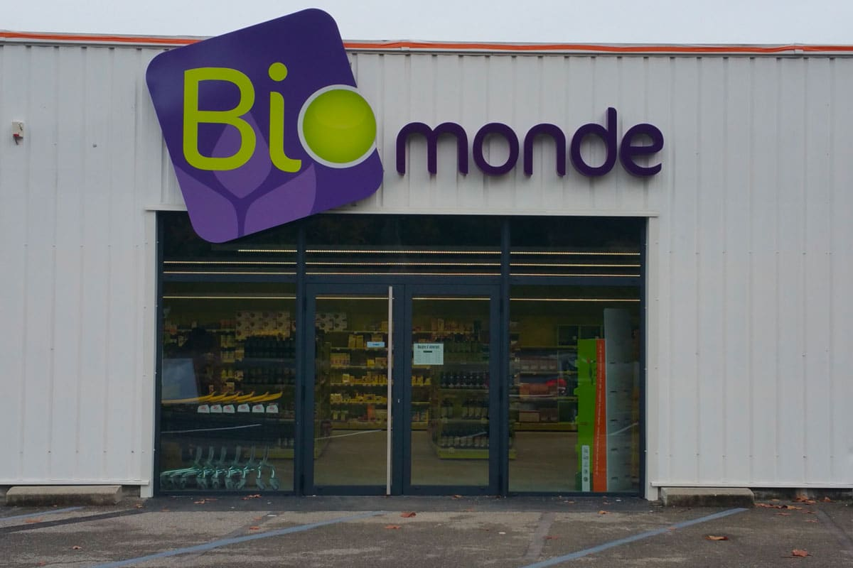 Agencement magasin | Bio monde | Privas (07)
