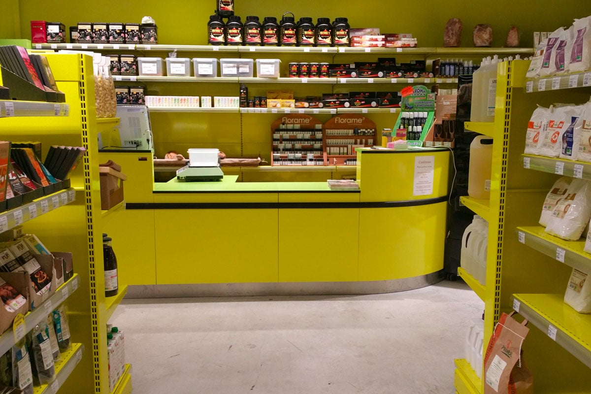 Agencement magasin | Bio monde | Privas (07)