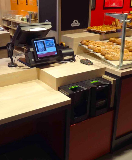 Caisse enregistreuse boulangerie | SMOB