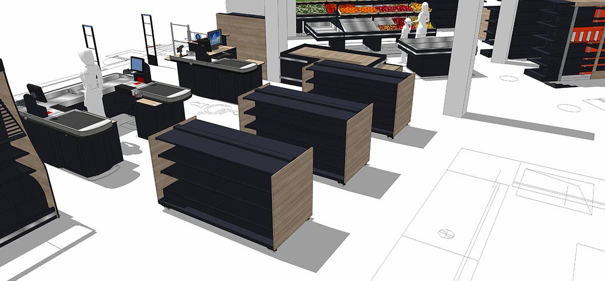 Agencement magasin | Espace de vente