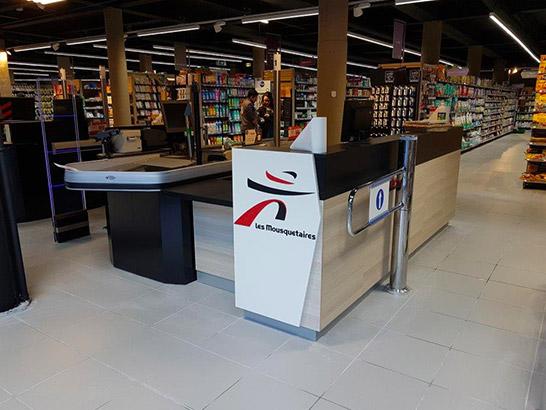 Meuble d'accueil en magasin : les solutions d'agencement en magasin