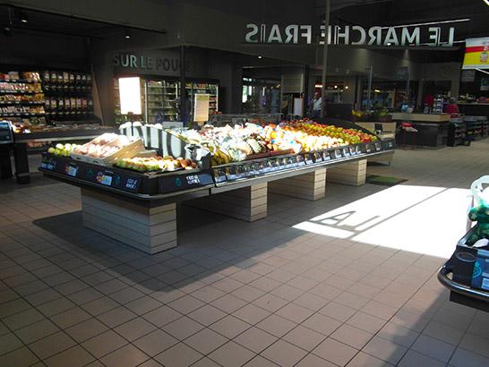 Meubles fruits & légumes magasin supermarché