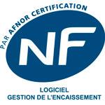 NF : logiciel gestion de l'encaissement