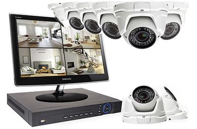 Ensemble écran + enregistreur + caméras