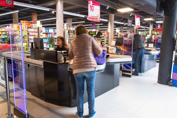 Terminal paiement électronique pour grandes enseignes