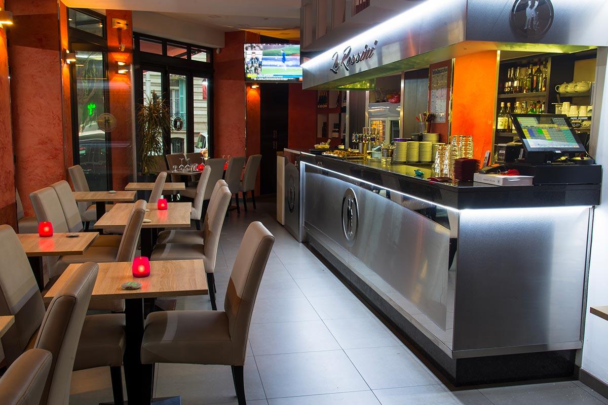 Encaissement & Gestion : Restaurant – Le Rossini | Nice (06)