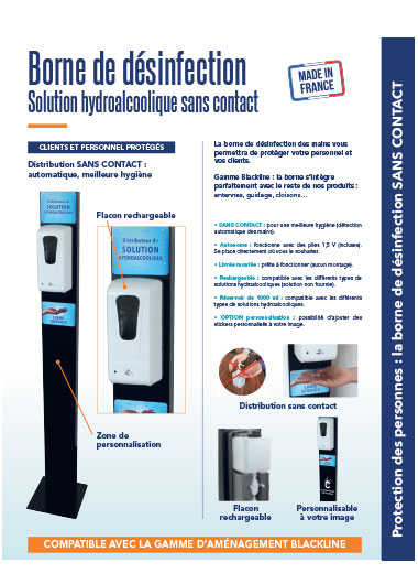Borne de gel hydroalcoolique | Coronavirus