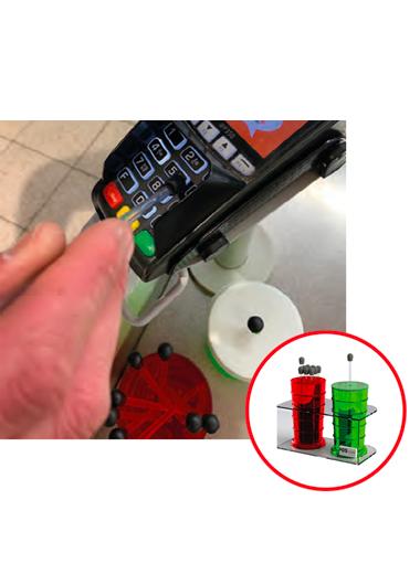 Kit d'hygiène pour les terminaux carte bancaire